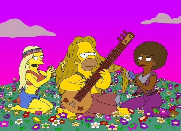Homer hippie